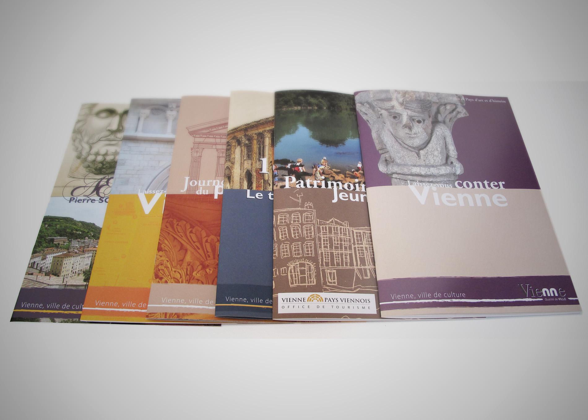 brochures Vienne Sextant Creative