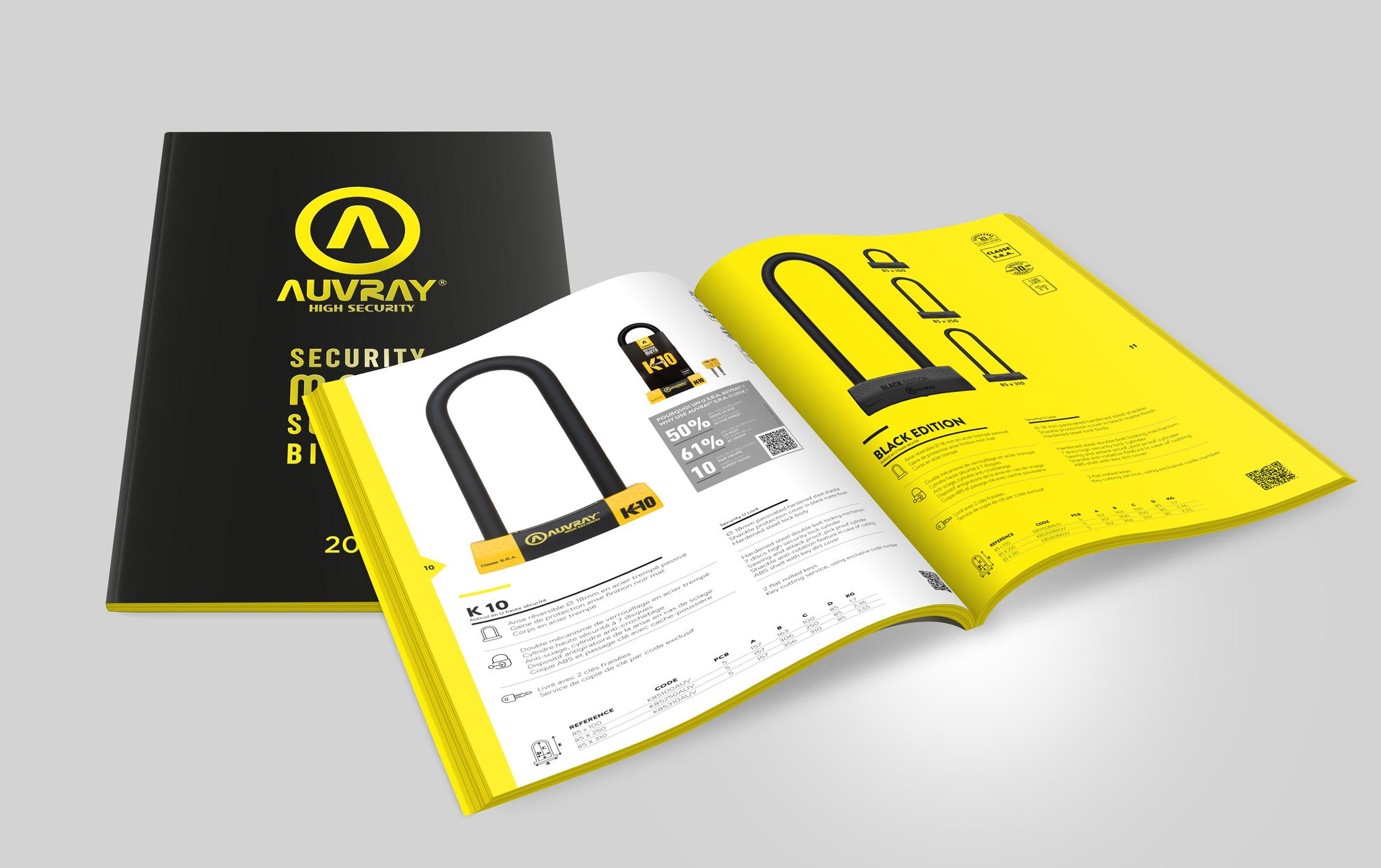 catalogue auvray Sextant Creative