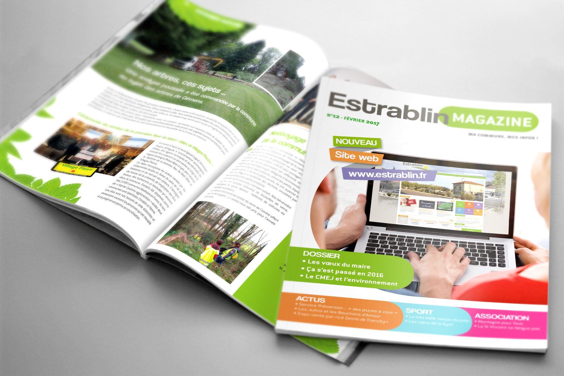Estrablin magazine Sextant Creative