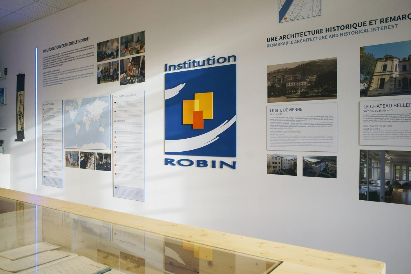lieu de-mémoire de l'institution robin Sextant Creative