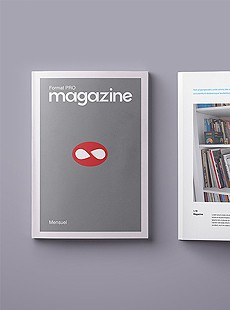 Magazine portfolio Sextant Creative