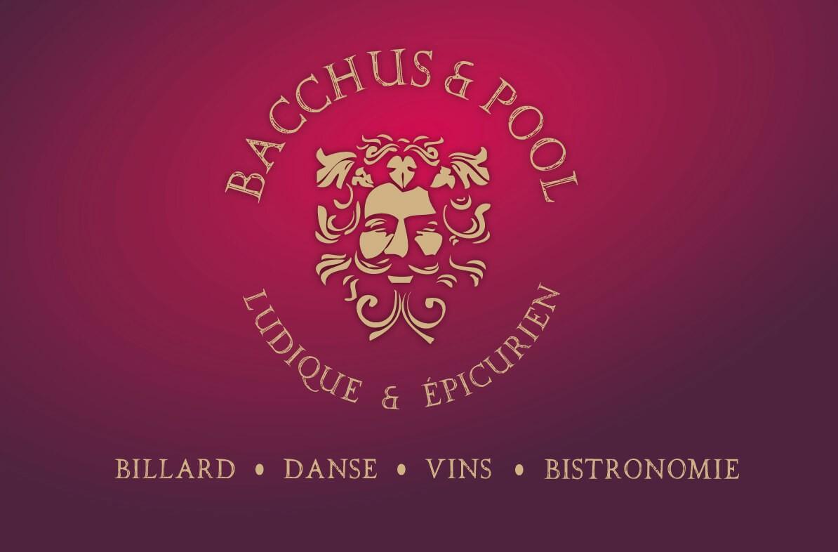 Bacchus n' Pool Logo Sextant Creative