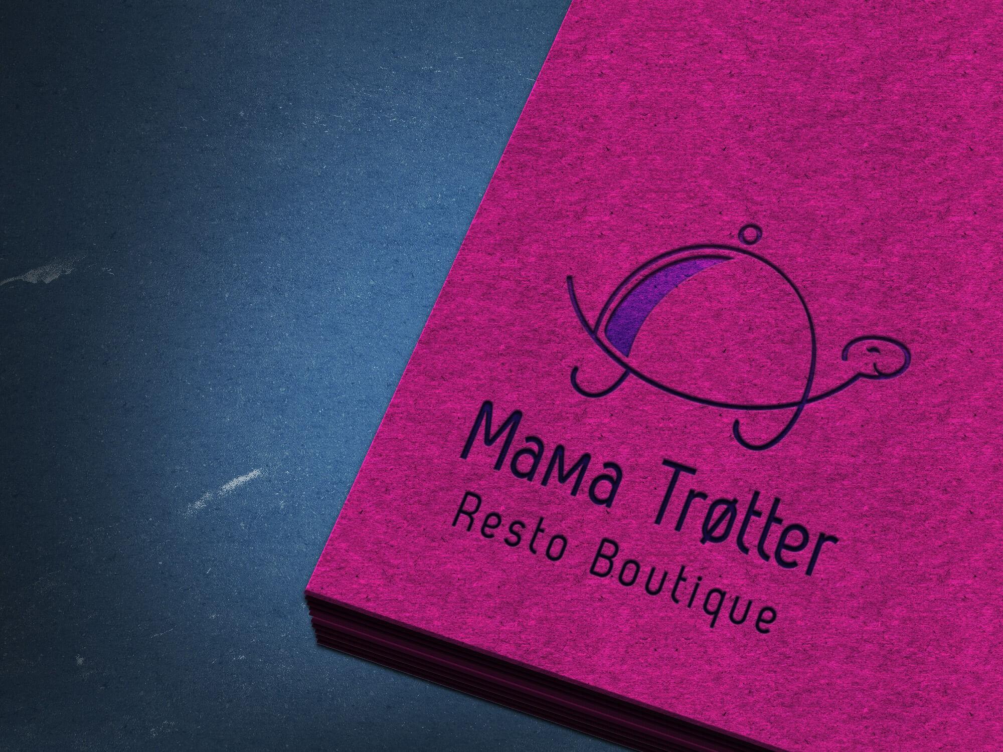 Mama Trøtter Logo Sextant Creative