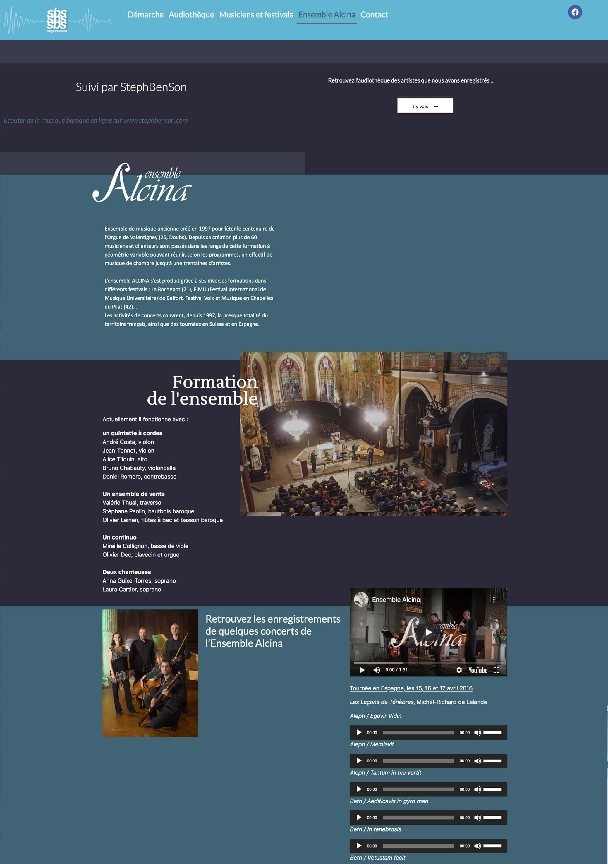 Stephbenson Site Web Sextant Creative