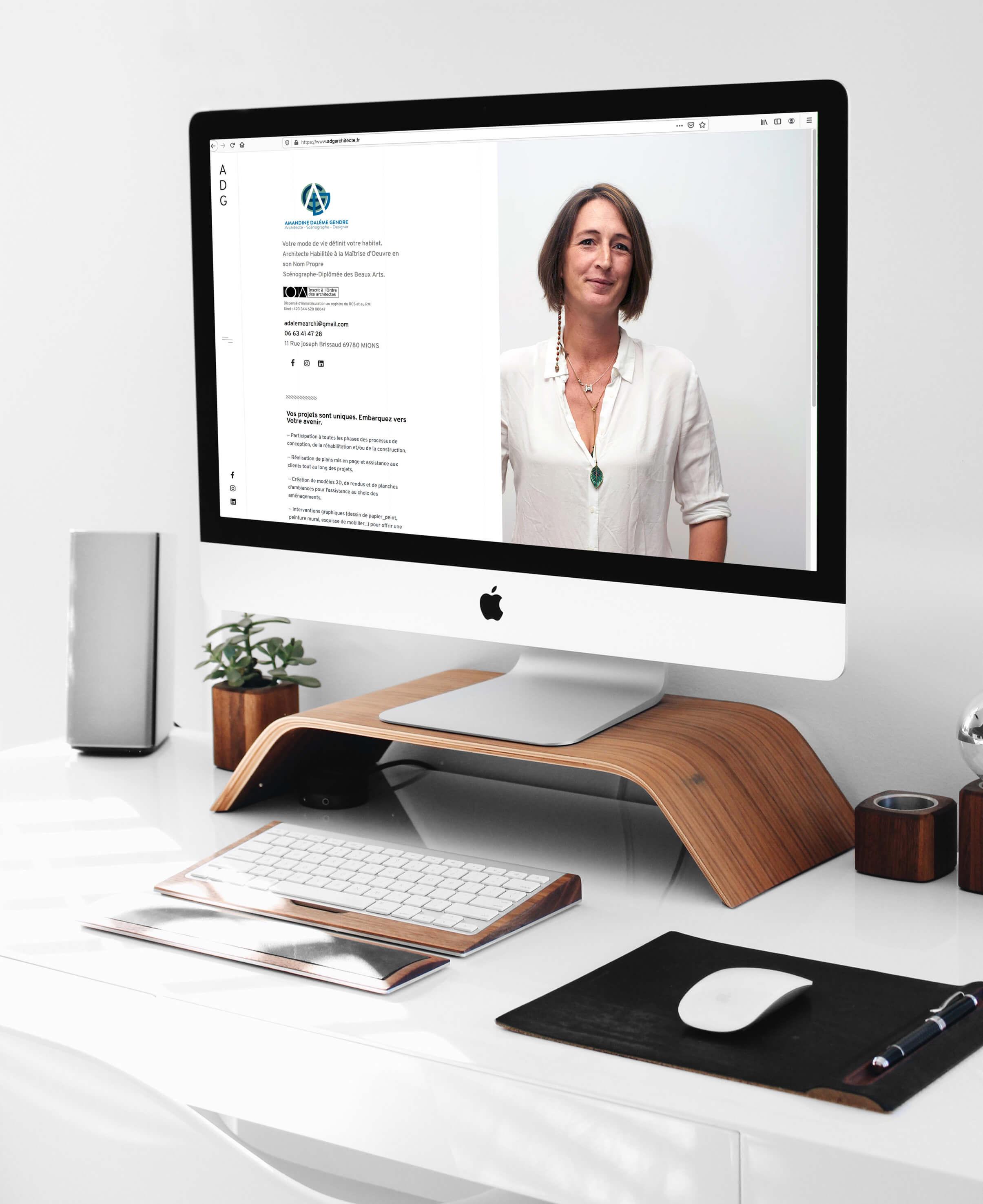 adgarchitecte - Création site web - Sextant Creative