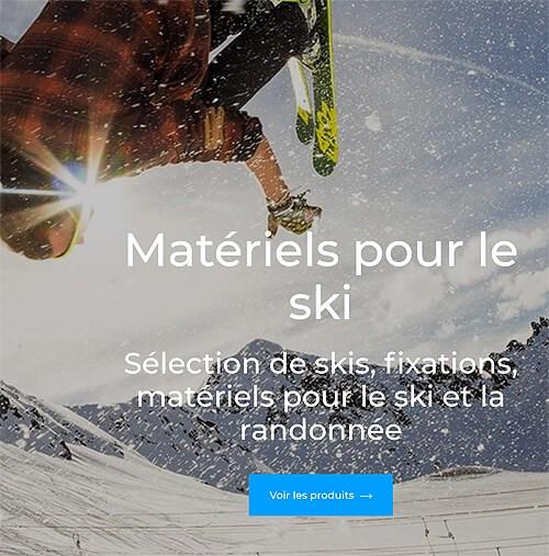 Sports Alpins Chamonix portfolio