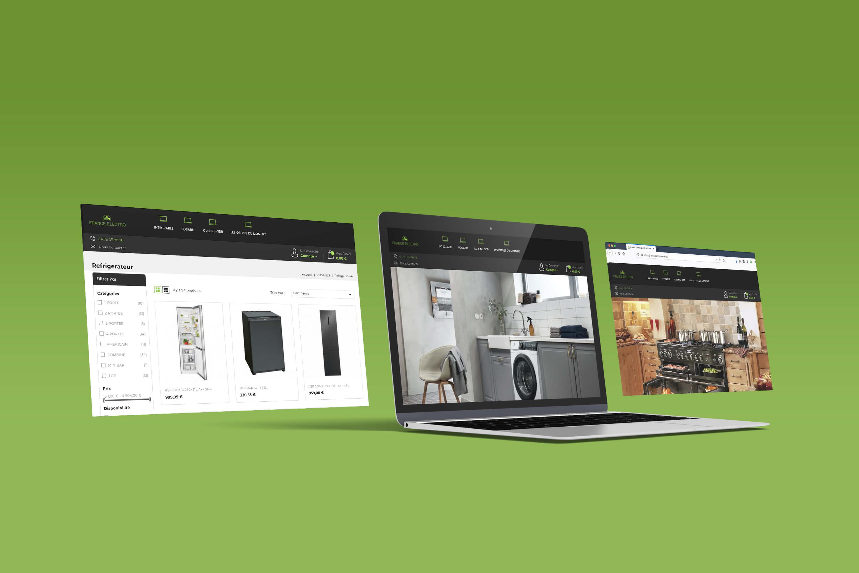 france electro création site de vente en ligne