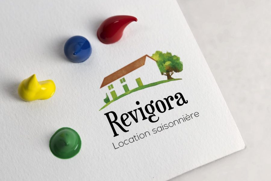 revigora location logo message Sextant Creative